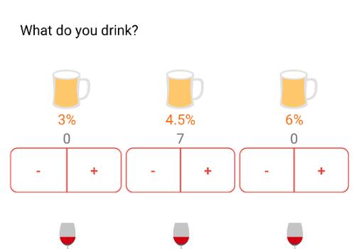 BAC Alcohol Calculator Ekran Görüntüleri - 1