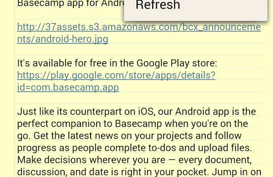 Basecamp Ekran Görüntüleri - 4
