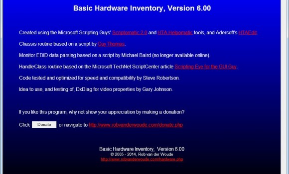 Basic Hardware Inventory Ekran Görüntüleri - 4