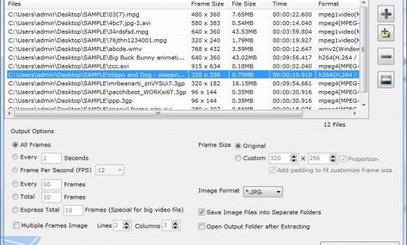 Batch Video To Image Extractor Ekran Görüntüleri - 1