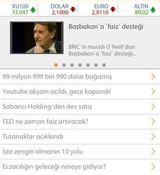 Bigpara Mobil Ekran Görüntüleri - 4