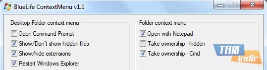 BlueLife ContextMenu Ekran Görüntüleri - 2