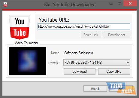 Blur Youtube Downloader Ekran Görüntüleri - 1