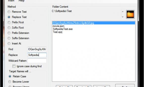 Bulk File Rename Ekran Görüntüleri - 1