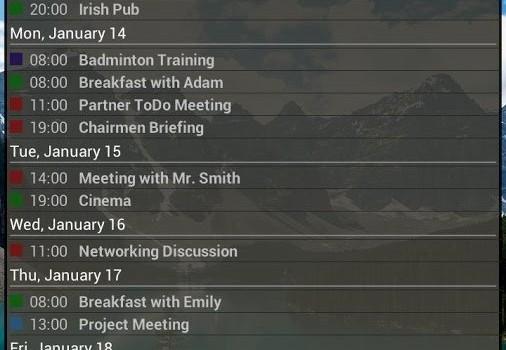 Business Calendar Ekran Görüntüleri - 2