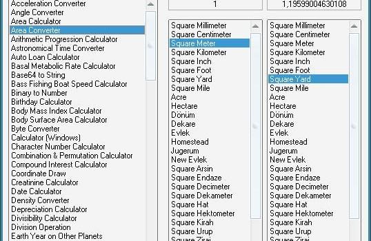 Calculatormatik Ekran Görüntüleri - 1