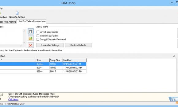 CAM UnZip Ekran Görüntüleri - 2