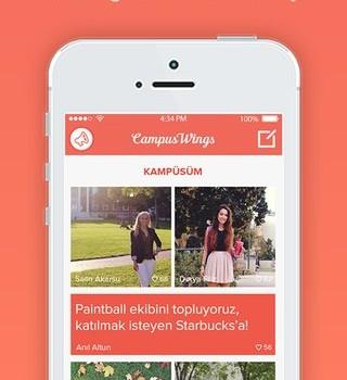 CampusWings Ekran Görüntüleri - 2