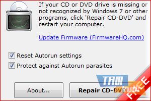 CD-DVD Icon Repair Ekran Görüntüleri - 1