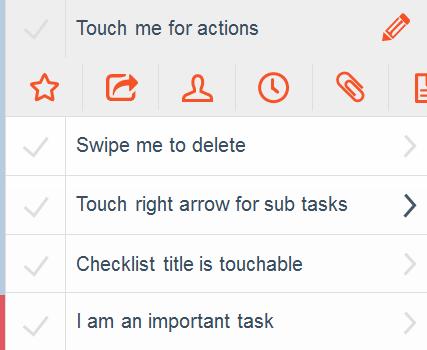 Checklist Ekran Görüntüleri - 3