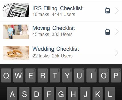 Checklist Ekran Görüntüleri - 4