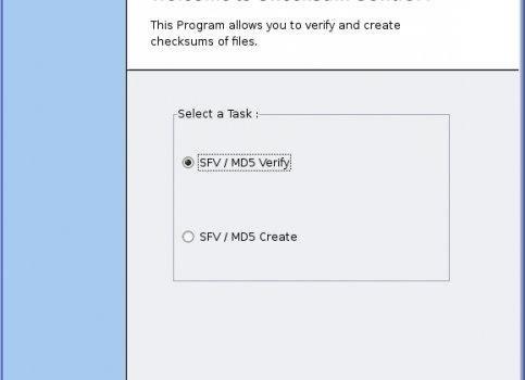 Checksum Control Ekran Görüntüleri - 1