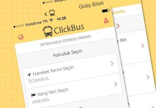 ClickBus Ekran Görüntüleri - 4