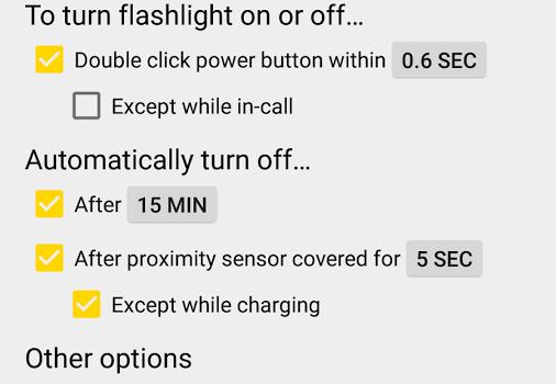ClickLight Flashlight Ekran Görüntüleri - 1