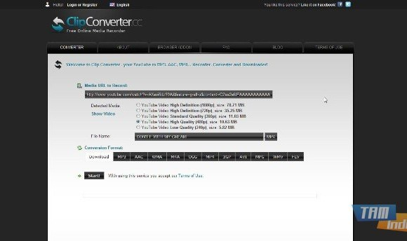 ClipConverter Ekran Görüntüleri - 3