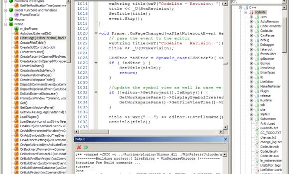 CodeLite Ekran Görüntüleri - 3
