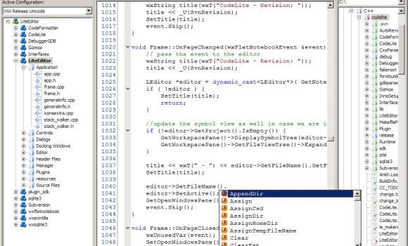 CodeLite Ekran Görüntüleri - 5