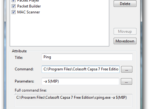 Colasoft Capsa Free Ekran Görüntüleri - 1