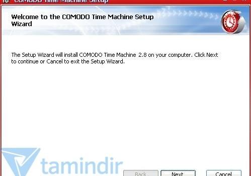 Comodo Time Machine Ekran Görüntüleri - 1