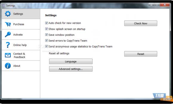 CopyTrans TuneSwift Ekran Görüntüleri - 1