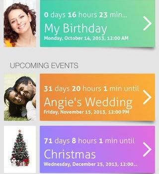 Countdown+ Event Reminders Lite Ekran Görüntüleri - 5