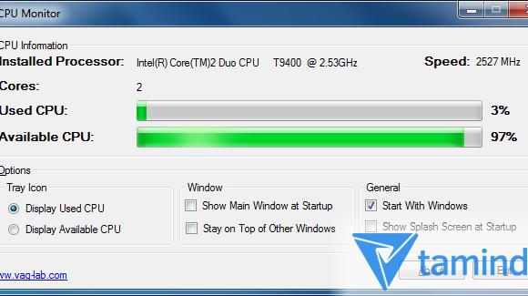 CPU Monitor Ekran Görüntüleri - 1