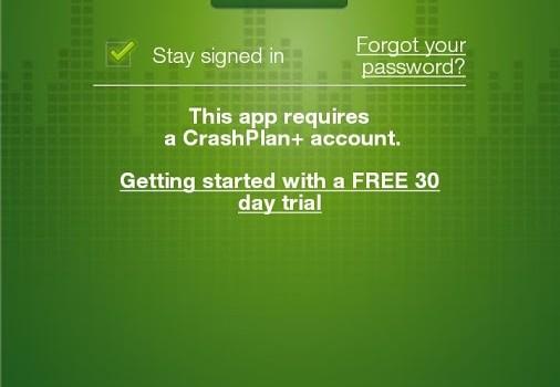 CrashPlan Ekran Görüntüleri - 1