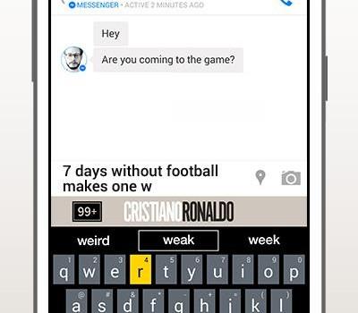 Cristiano Ronaldo Keyboard Ekran Görüntüleri - 4