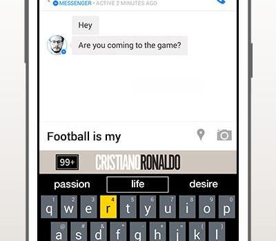 Cristiano Ronaldo Keyboard Ekran Görüntüleri - 2
