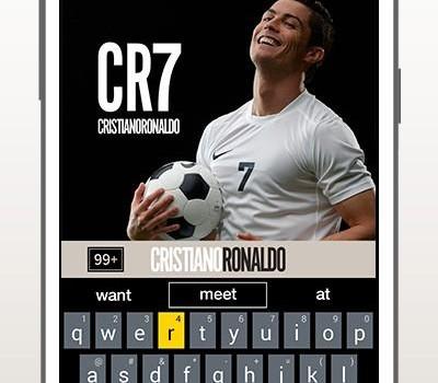 Cristiano Ronaldo Keyboard Ekran Görüntüleri - 1
