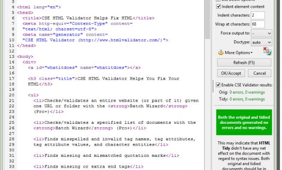 CSE HTML Validator Lite Ekran Görüntüleri - 4