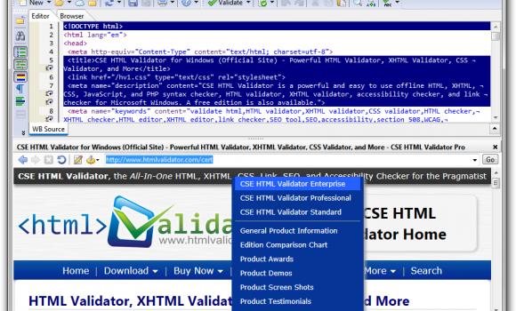 CSE HTML Validator Lite Ekran Görüntüleri - 2