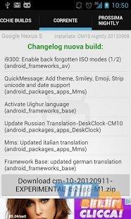 CyanogenROM Downloader Ekran Görüntüleri - 3