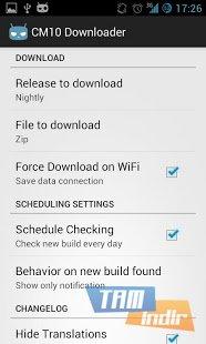 CyanogenROM Downloader Ekran Görüntüleri - 2