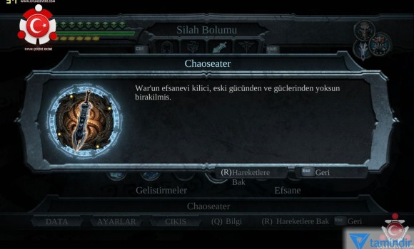 Darksiders Türkçe Yama Ekran Görüntüleri - 3