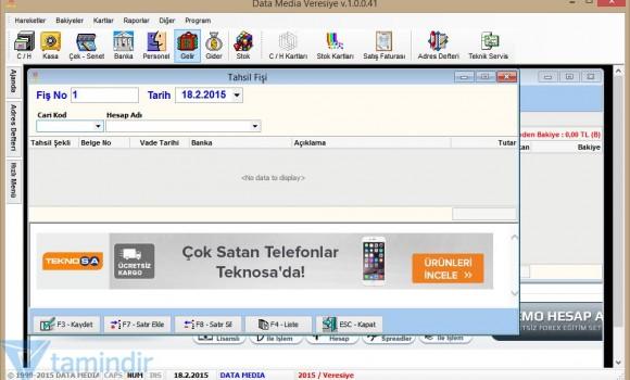 Data Media Veresiye Ekran Görüntüleri - 2