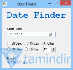 Date Finder Ekran Görüntüleri - 1