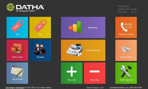 Datha Muhasebe Programı Ekran Görüntüleri - 1
