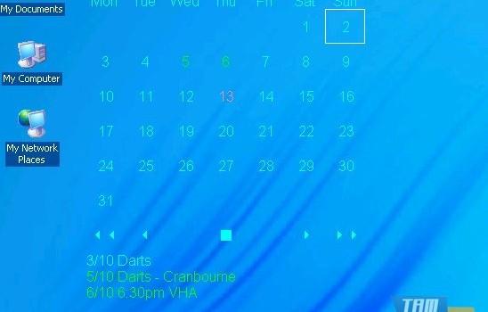 Desktop Calendar Ekran Görüntüleri - 1