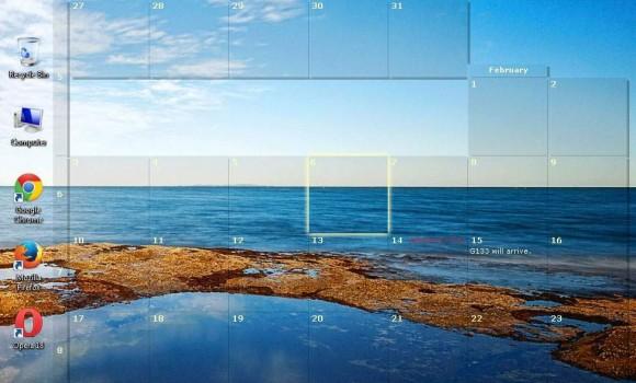 DesktopCal Ekran Görüntüleri - 3
