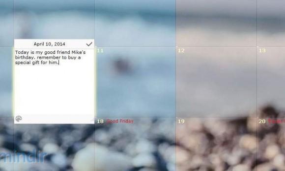DesktopCal Ekran Görüntüleri - 2
