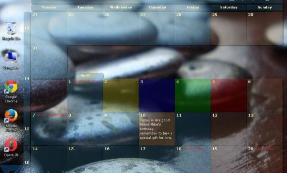 DesktopCal Ekran Görüntüleri - 1