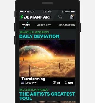 DeviantArt Ekran Görüntüleri - 1