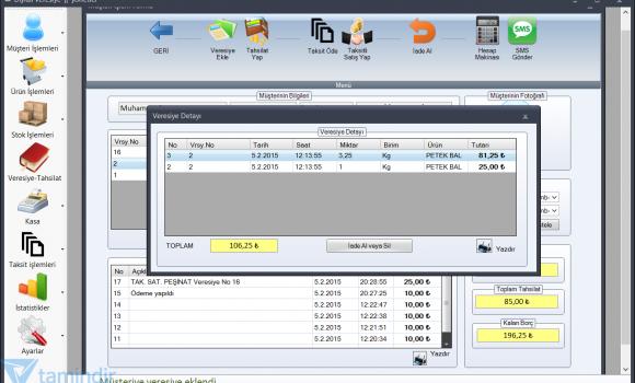 Dijital Veresiye Defteri Ekran Görüntüleri - 5