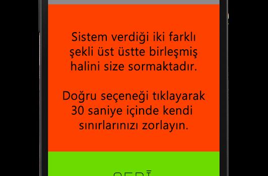 Dikkat Testi Ekran Görüntüleri - 3