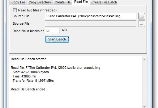 Disk Bench Ekran Görüntüleri - 1