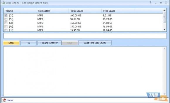 Disk Check Ekran Görüntüleri - 1