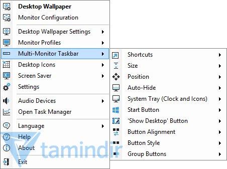 DisplayFusion Ekran Görüntüleri - 1