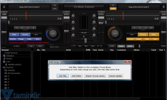 DJ Mixer Express Ekran Görüntüleri - 1