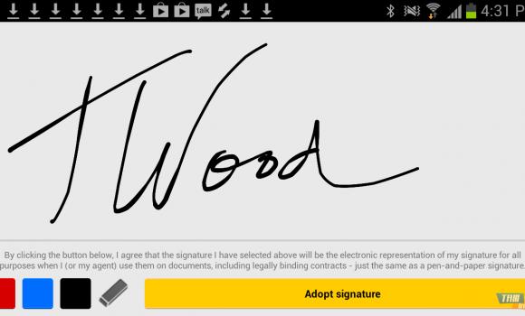 DocuSign Ink Ekran Görüntüleri - 1